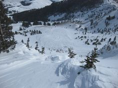 Headed To The Backcountry? First Check This Interactive Avalanche Map
