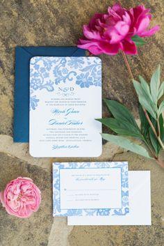 Blue invitations: http://www.stylemepretty.com/georgia-weddings/douglasville/2015/03/20/whimsical-georgia-summer-wedding/ | Photography: Rustic White - http://www.rusticwhite.com/