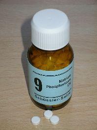 Schüssler-Salz: 9. Natrium Phosphoricum