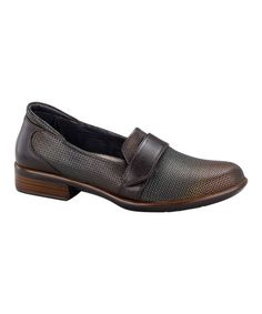 8912671ecca2 NAOT Rattlesnake Brown   French Roast Wind Leather Loafer