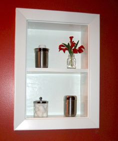 recessed-shelf