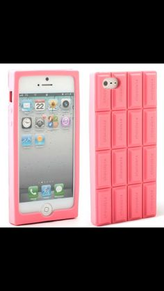 Candy chocolate iphone 5/5s case kawaii cute pink or by Shykiss, $12.00