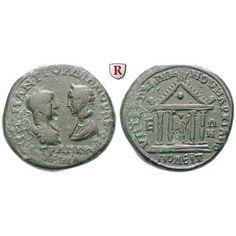 Römische Provinzialprägungen, Thrakien-Donaugebiet, Markianopolis, Gordianus III., Bronze 238-244, ss: Thrakien-Donaugebiet,… #coins