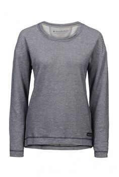 recolution organic Sweater Frauen blau gesprenkelt fair trade Pullover Bio Baumwolle