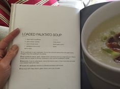 Fauxtato soup from Primal Cravings by Megan and Brandon Keatley
