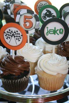 "Photo 5 of 18: Motocross / Birthday ""Jake's 5th Motocross Birthday Party""   Catch My Party"