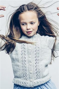1501: Modell 5 Jakke med hullmønster #sisu #strikk #knit