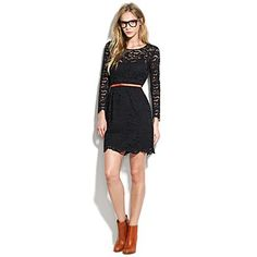 Lace LBD from Madewell