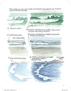 From Down By the Sea With Brush and Pen by Claudia Nice.