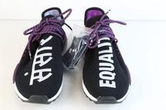 10275c495ef7b Adidas PW Pharrell Williams HU Human Race NMD HOLI MC Core Black Purple  AC7033 (NO