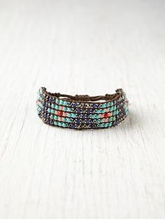 Chan Luu Narrow Beaded Friendship Bracelet at Free People Clothing Boutique