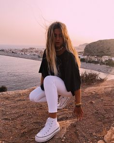 All photos credit to the rightful owner! to get your outfit republished! Cute Comfy Outfits, Cool Outfits, Summer Outfits, Teen Fashion Outfits, Outfits For Teens, Modest Fashion, Blondie Girl, Jugend Mode Outfits, Foto Fashion