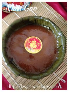Baked or Steamed,You Decide Yourself–Glutinous Rice Cake, Nian Gao (年糕) Chinese Cake, Chinese Food, Dessert Dishes, Dessert Recipes, Nian Gao Recipe, Chinese New Year Dishes, Nyonya Food, Easy Chinese Recipes, Asian Recipes