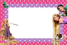 Tangled Rapunzel Free Printable Party Invitations Emmas 2nd