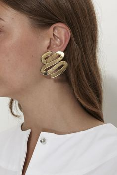 LUINY, Smith Earrings, Brass |