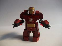 """How to make a Lego """"Hulk-buster"""" Armor Suit (Iron Man)"""
