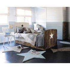 Kinderbett aus Recyclingholz ... - Arcachon