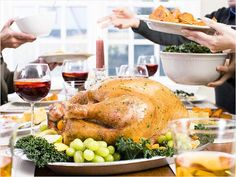 Last minute Thanksgiving tip: Thaw your turkey! If you haven't started yet, you can thaw your turkey in a sink full of cold water. It takes about 30 minutes per pound.