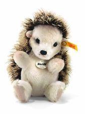 Steiff 15cm Goldi Hedgehog Sitting (Brown Tipped)