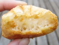 Pão de Queijo ~ a grain-free Brazilian Cheese Bread, made with tapioca flour and Parmesan cheese