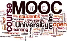 Logo de los MOOC's en los que se menciona las palabras importantes en la descripción de los MOOC. #LogoMOOC, #PortadaMOOC