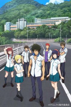 Kuromukuro: this anime was really good and I think you should watch it. genre -  Action, Mecha, Sci-fi