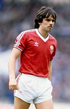 7470be7da Alan Davies of Man Utd in 1983. Welsh Football