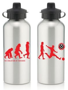 Keep yourself hydrated in style with your own personalised Sheffield United FC Evolution Water Bottle.