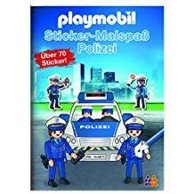 Playmobil Mein Sticker Malbuch Polizei Mein Playmobil Sticker Polizei Wenn Du Mal Buch Bucher Sticken