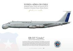 FUERZA AÉREA DE CHILEII Brigada Aérea, Grupo de Aviacion Nº 10Aeropuerto Comodoro Arturo Merino Benítez Airborne Early Warning & Control