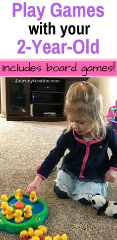 The Best Toddler Games for 2 Year Olds with Board Games Play games with your 2 year old! This list includes great board games for toddlers that will grow with your child. Play games with kids indoors Best Toddler Games, Toddler Play, Toddler Learning, Baby Play, Games For Kids, Toddler Board Games, Indoor Games For Toddlers, Games For Babies, Toddler Speech