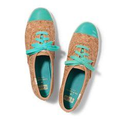 Keds x kate spade new york. cute kicks in cork & turquoise