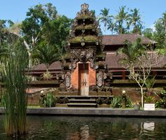 The water temples at Tirtha Empul in Bali