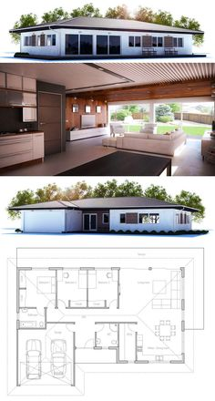 Small House Plan CH225