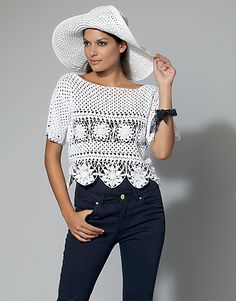 Crochet Patterns Galore - Summer Top