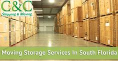 Professional Moving Storage Services in South Florida - http://ccshipping.com/professional-moving-storage-services-in-south-florida/