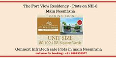 The Fort View Residency | Plots at NH-8 | Main Neemrana – https://goo.gl/5Ku9up  #realestate #propertynews #investment #neemrana Gennext Team Helpline no : +91 8882335577 Email : info@gennextinfratech.com Web. : http://www.Gennextinfratech.com