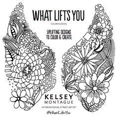 Kelsey Montague Art Angel Wings Art Coloring Books Wings Drawing