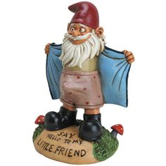 Perverted Garden Gnome Flasher , Free Shipping in the U.S.A.