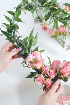 lacarolita:DIY Floral Heart