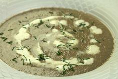 Μια πανέυκολη μανιταρόσουπα με φίνα γεύση και τα τρία μυστικά της σε βίντεο-συνταγή Hummus, Feta, Grilling, Food And Drink, Treats, Cheese, Ethnic Recipes, Round Round, Ideas