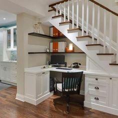 Casa de Boneca Decor: ♥ Aproveitando os espaços embaixo da escada ♥
