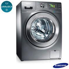 Imagem para Lava & Seca 10,1 Kg Seine Samsung 14 Programas de Lavagem Inox - WD106UHSAGD a partir de Fast Shop