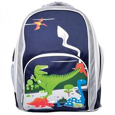 a9732bc4151 Wooden and Educational Toys   Kids Back Packs and Lunch Boxes. The Bobble  Art Dinosaur Large School Backpack ...