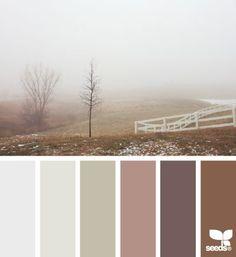 foggy tones | fresh hues