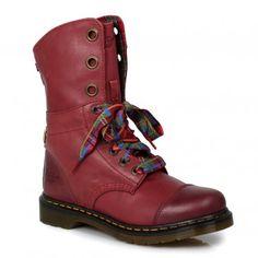 Dr Martens Red Aimilie Mens Boots #towerlondon #drmartens #docs #boots #dms