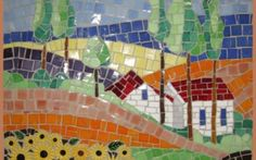 Gallery - The Clay Club Mosaic Projects, Projects To Try, Stork, Ceramic Painting, Ceramic Plates, Diy Kits, Mosaic Tiles, Fused Glass, Clay