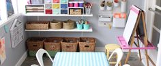 Playroom organisation tips