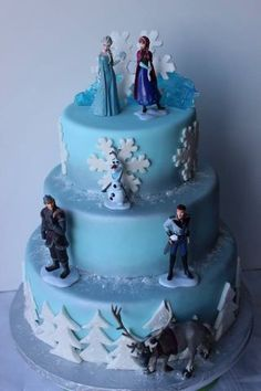 Frozen - Cake by Simplysweetcakes1 - CakesDecor