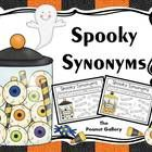 "Try a sweet but spooky activity with your students this Halloween! This FREEBIE includes a synonym activity called ""Spooky Synonyms"" in which stude..."